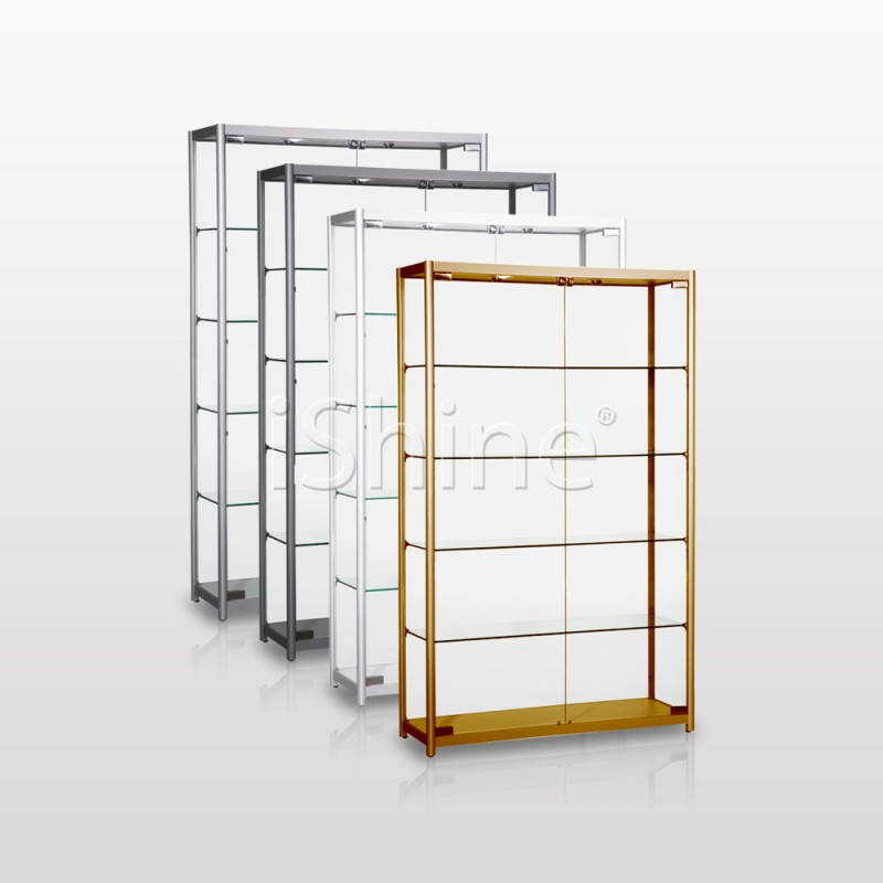 DIVITA White Double Cabinet IS335