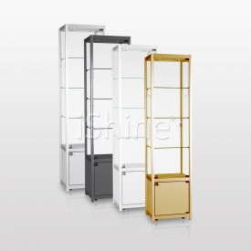 EDEN Gold Cabinet with Drawer IS332