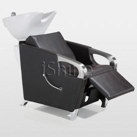 RIZTY Classic White Border Stitching Backwash Chair IS006