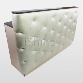 PLUMP Salon Reception Desk with Foam Back IS019