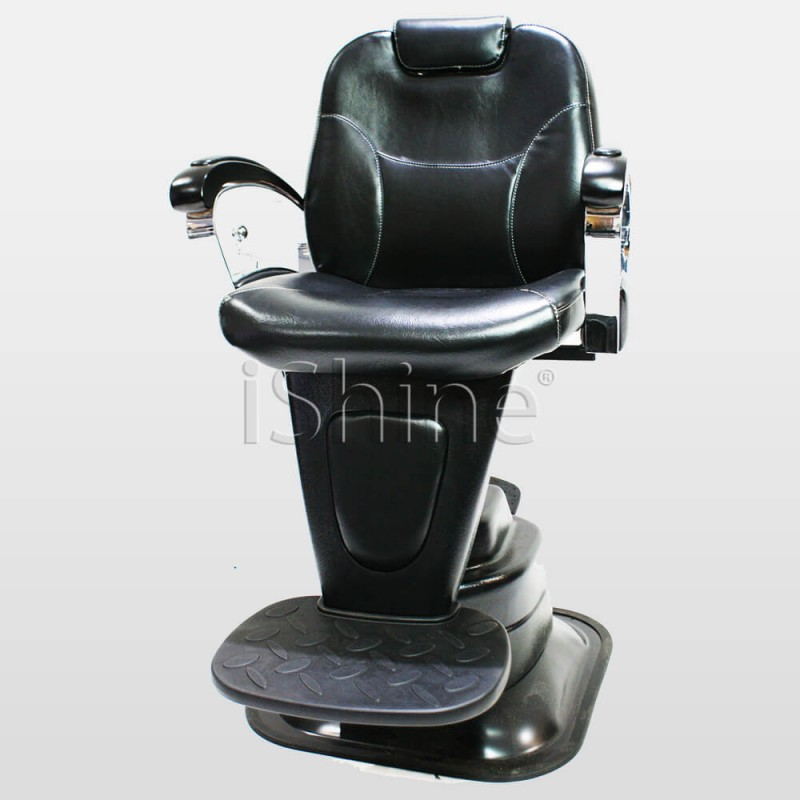 GARDE Adjustable Reclined Barber Chair with Footrest IS011